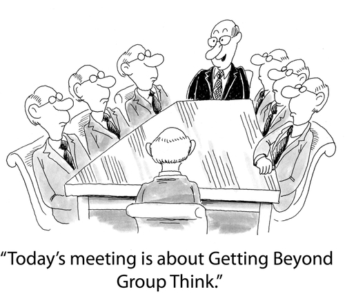 Diversify recruiting strategies to get beyond groupthink