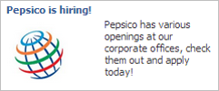 Classic Facebook hiring ads give your company reach to a wide audience